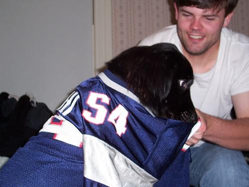 Daddy Loves his little Pat's Fan!