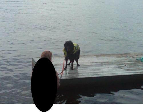 Kylie on Dock 1