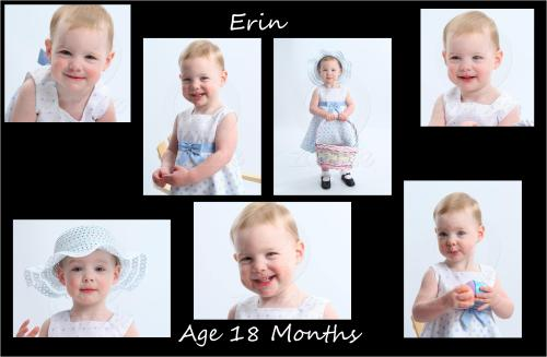 Erin is a big girl now she turned 2 in the beginning of September!